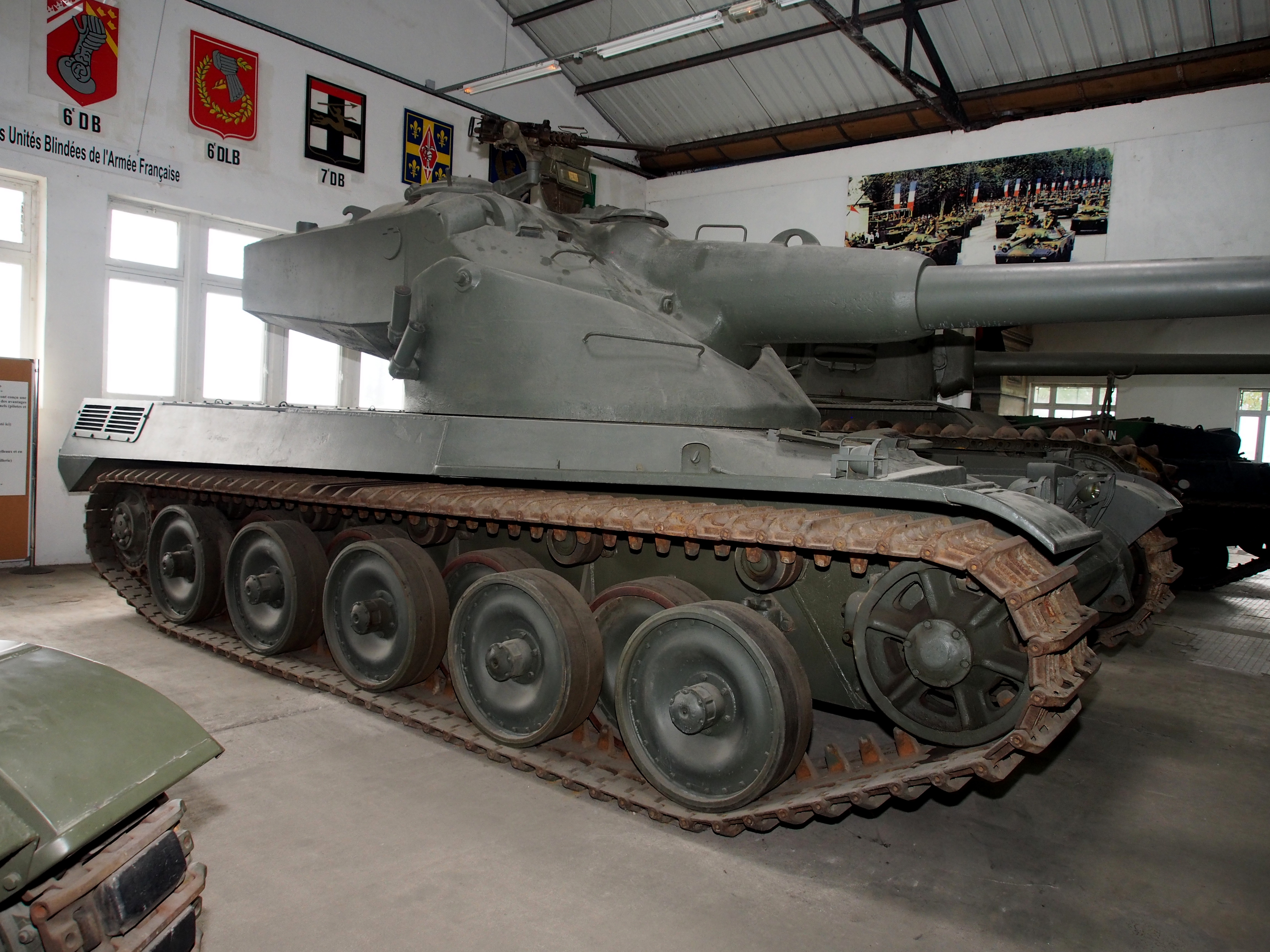 AMX-50 French tank used in WW