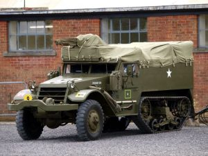 A WW2 half-truck