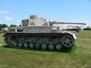 A German panzer used during World War II