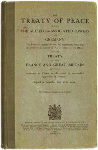 Treaty of Versailles (English version)